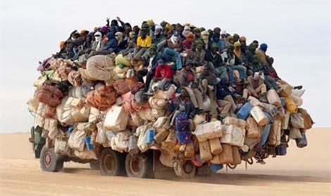 Caminhão Pau de Arara